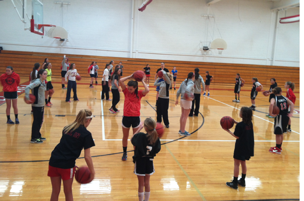 Spring Clinic for Girl's Basketball