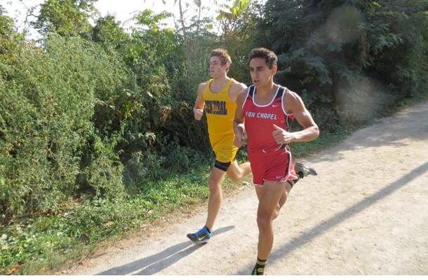 Runner Heading to Penn