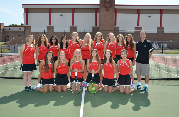 Girl's Tennis Team Wins Academic Honors