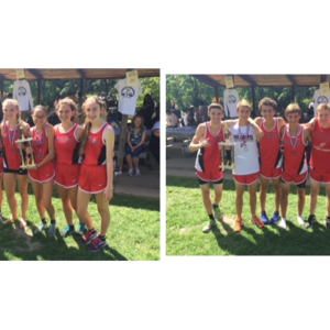 Foxes' Runners Sweep Invitational