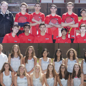 Team GPA Award Goes to Boys' and Girls' Tennis