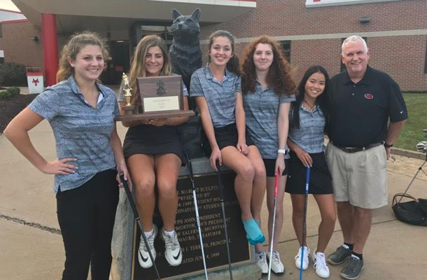 Girls' Golf Advances to PIAA Finals