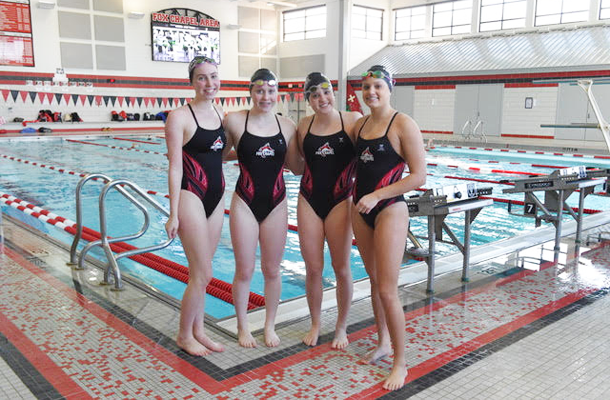 Girls' Swimming Enjoys Another Great Year