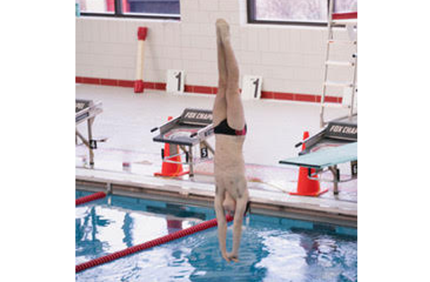 Cagley Wins Second Consecutive Gold Medal in WPIAL Diving Championship