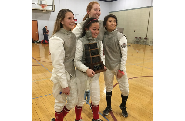 Girls' Fencing Best in Region