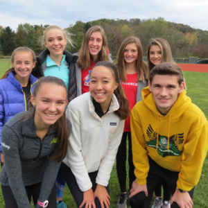 Three-Peat Return to PIAAs for Girls' Cross Country