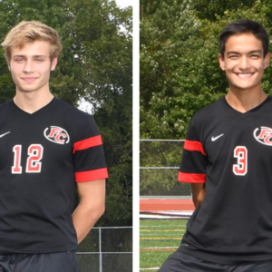 Boys' Soccer Defense Anchored by Miller, Shin