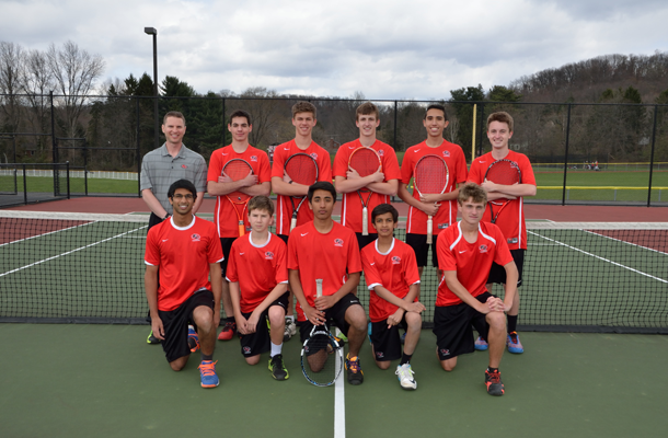 Boys' Tennis Team Headed for Hershey for First Time