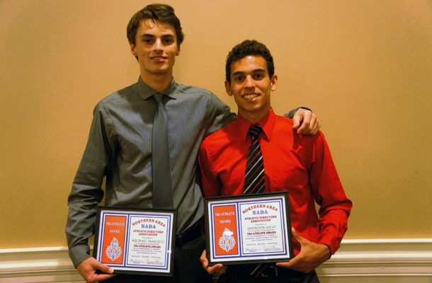 Two Foxes' Athletes Win Tri-Sport Award