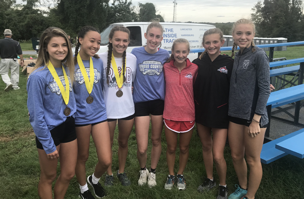 Cross Country Girls Continue Strong Performances