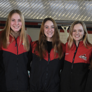 Encouraging New Depth to Girls' Diving