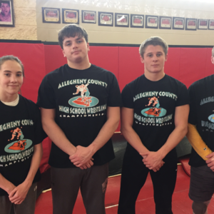 Four Foxes Medal at County Wrestling Championships