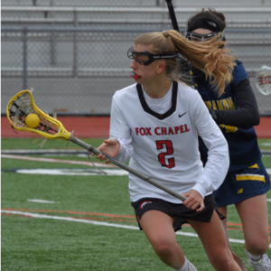 Mary Ellis Topples School LAX Record for Assists