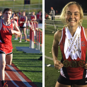 Runners Set Three New School Records