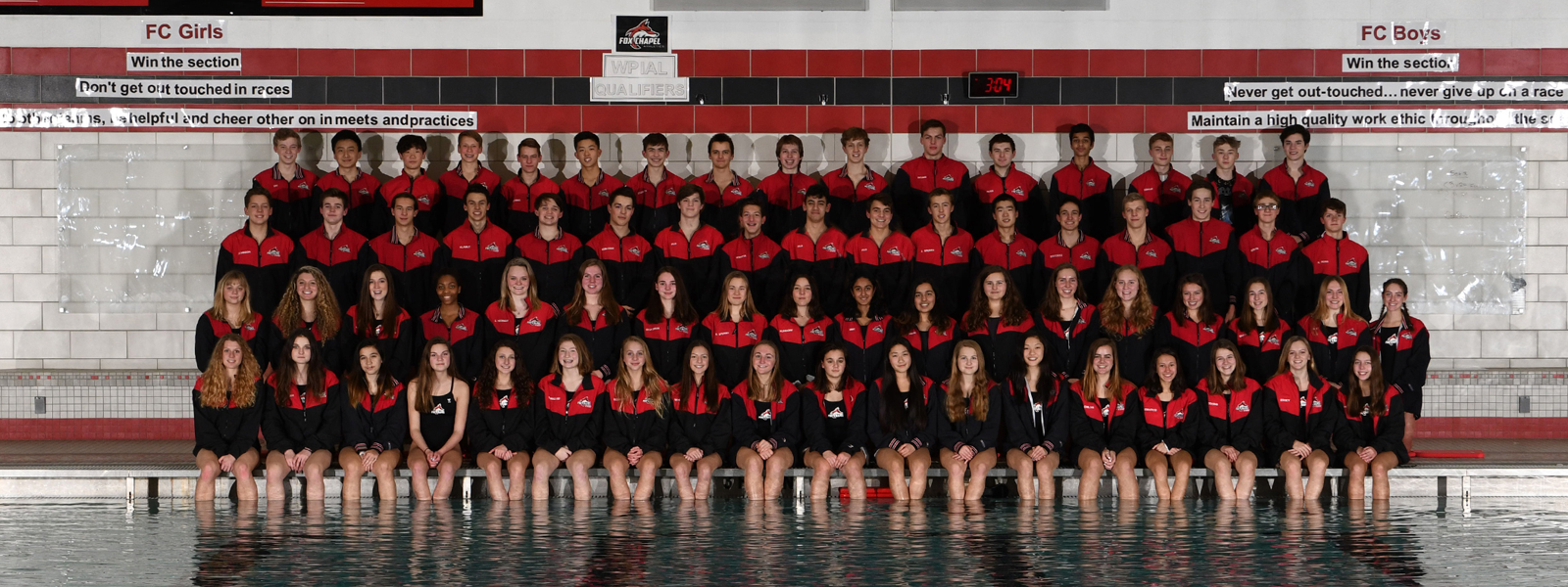 Swimming and Diving Teams