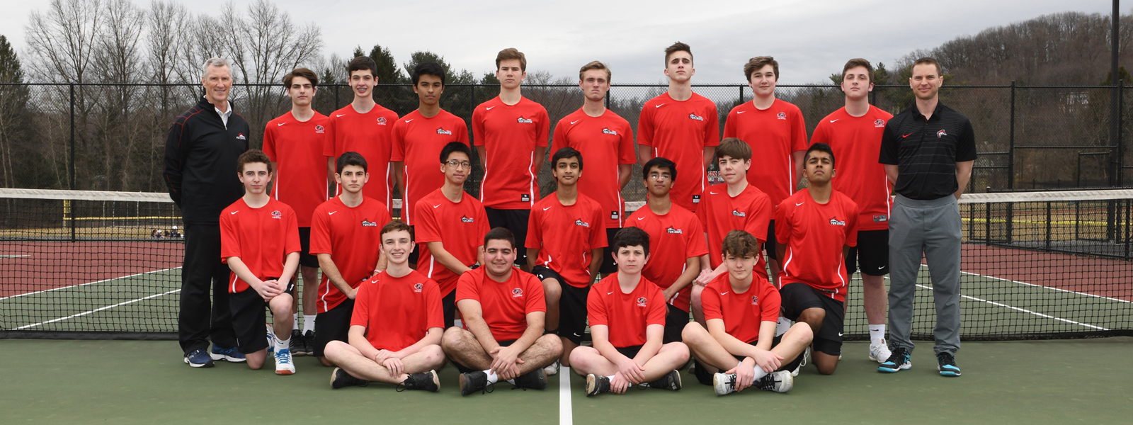 Boys' tennis team