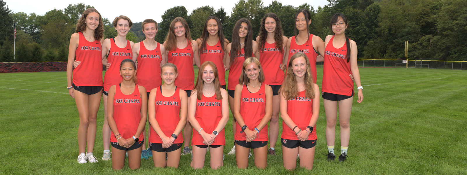 Cross country girls' team