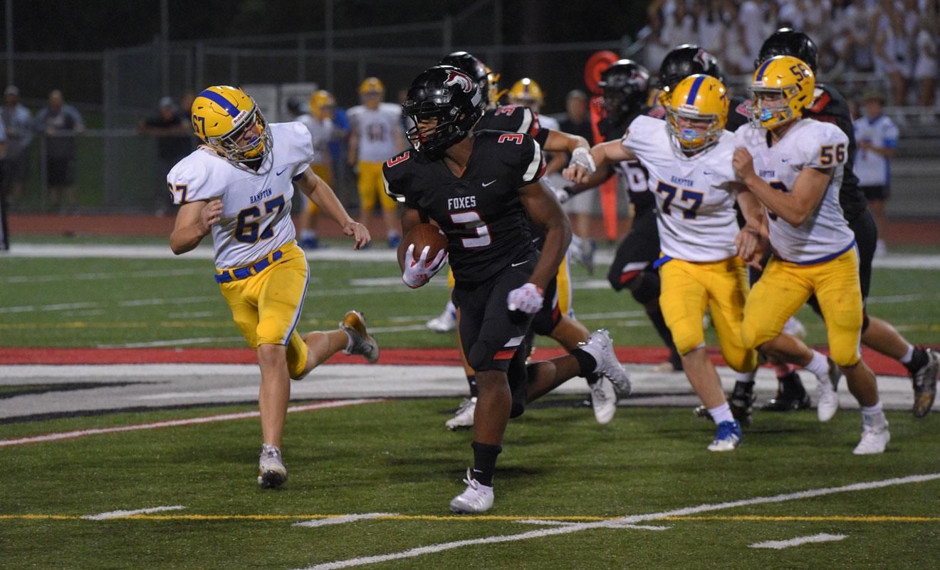 Football running back