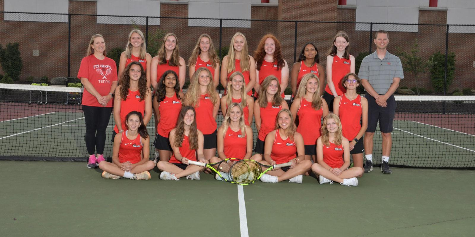 Girls' Tennis Team
